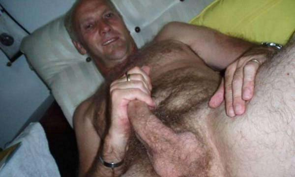 old man naked hairy