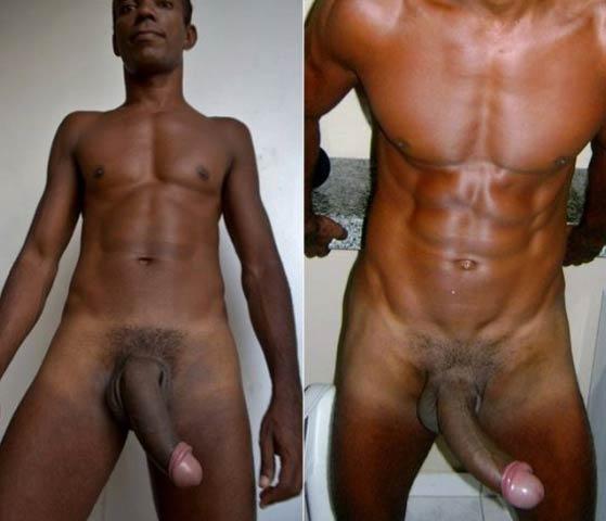 Negros Dotados: magro definido pau comprido cabeçudo