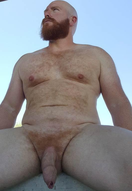 Thor Johnson gordo dotado pauzudo ruivo