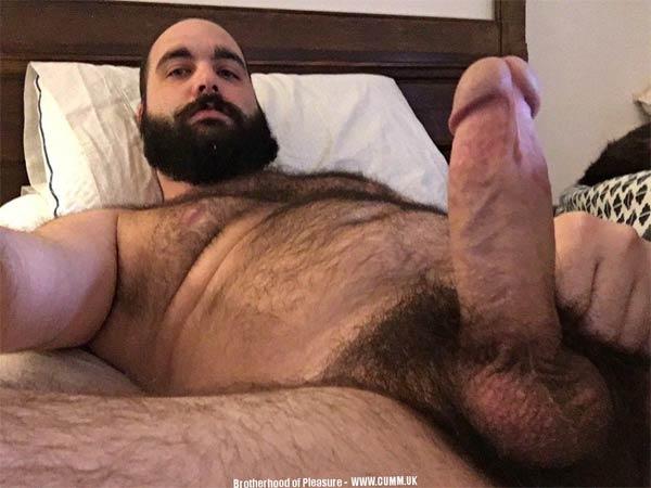 gordo bem dotado pau grosso peludo