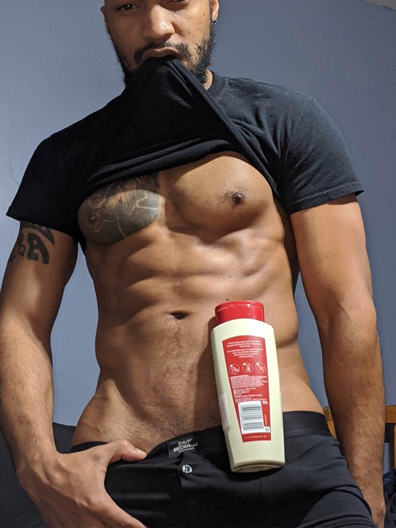 ShampooChallenge black boy sarado