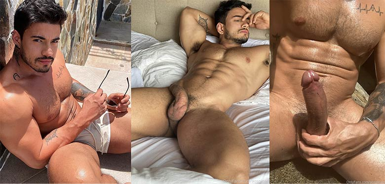 Alejo Ospina naked