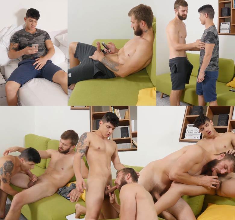 gay porn Bastian Karim Nikol Monak