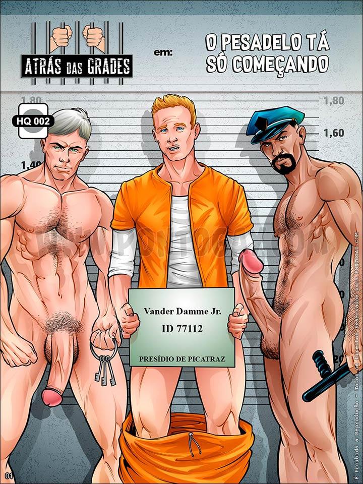HQ Gay 1 atras das grades