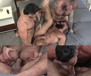 Homens GG peludos trepando pra valer
