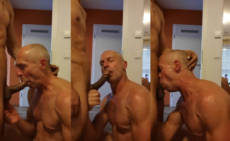 velho gay chupando pau duro porno amador