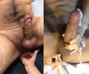 Fodendo o cu do ativo peludo com o dedo