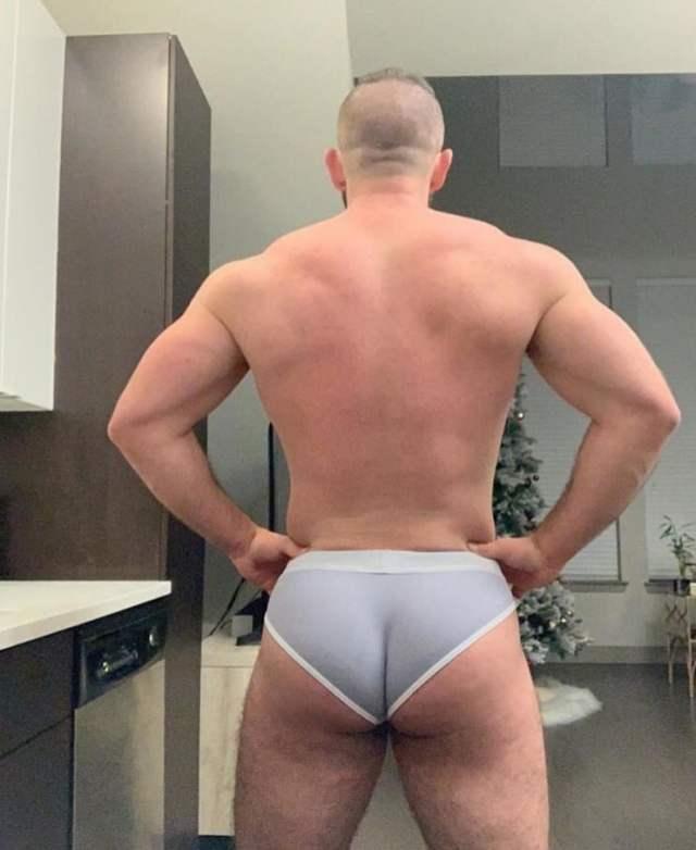 Beautiful Ass In Underwear