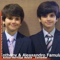 Anthony & Alessandro Fam. 2012