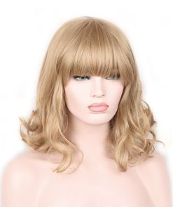 Woman Blond Wig