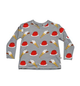 Boy wonder long tee jelly cut out front