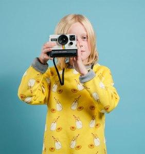 boy wonder milk sweatshirt & camera
