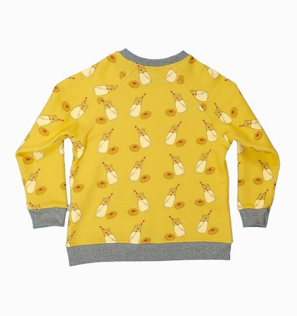 boy wonder milk sweatshirt back cutout