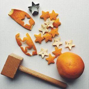 Orange peel stars