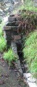 A stone WPA culvert.