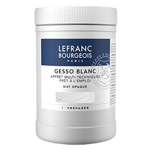 Gesso blanc Lefranc Bourgeois Pot de 1 kg