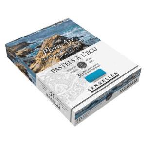 Boîte De 30 Demi-Pastels A L'Écu – Bord De Mer – Sennelier