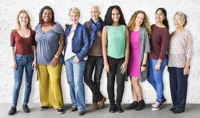 image of a diverse group of women