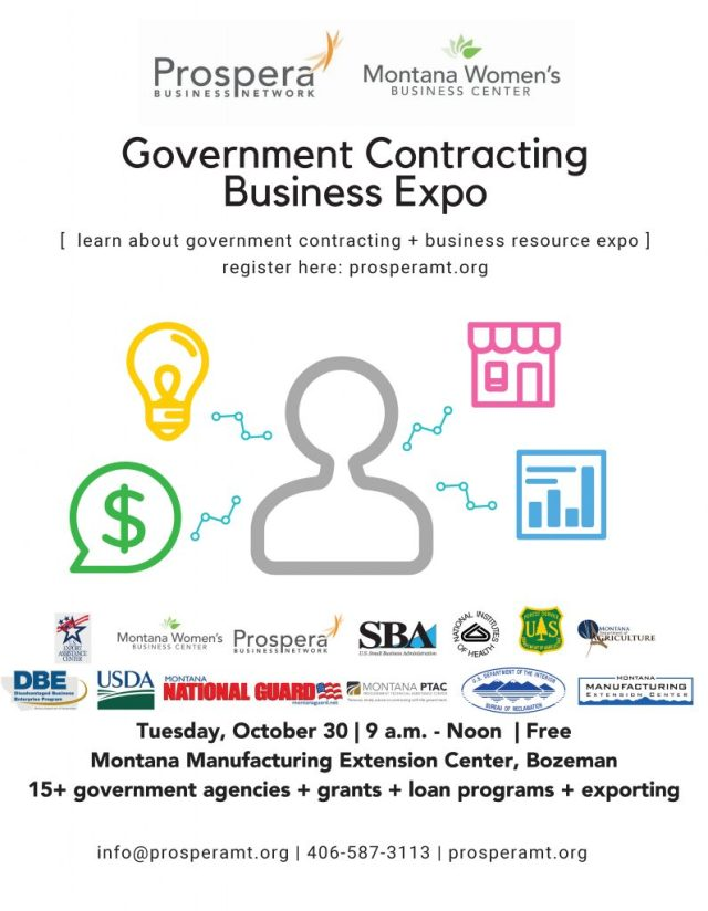 Flyer Govt Contracting Resource Expo
