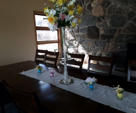 Easter Decoration for Dining Room