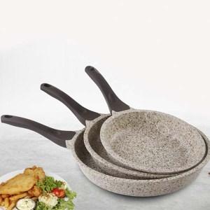 Купить сковородки FALEZ 3LU DOKUM TAVA CREAMY