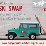 The Ski Swap Sale will unfold Saturday and Sunday, Nov. 4th and 5th 2017