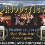 Rockin' TJ's Oktoberfest on Saturday, October 21st from 7–9:30pm