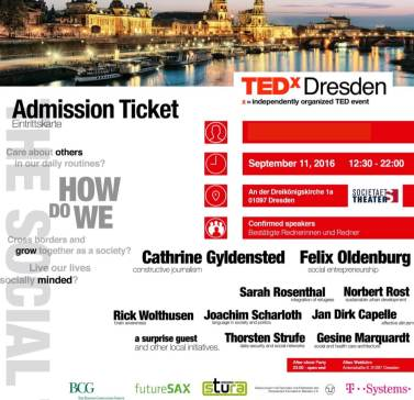 Automated PDF admission ticket and mailing