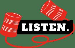 """TEDxDresden 2018's logo """"Listen."""""""