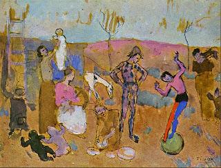 Picasso, Famille de Bateleurs