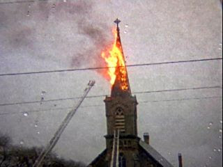 Fire Photo from City of Steeples
