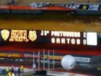 Lusa vence o Santos por 2 a 0