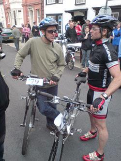 Tour de Presteigne 2008 electric bike rally report 7