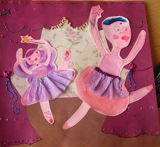 Ballerina Craft with my Preschooler