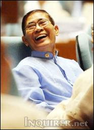 Rep. Crispin Beltran in Philippine Congress, photo by inquirer.net