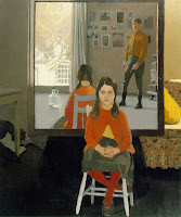 Fairfield Porter, The mirror, 1966