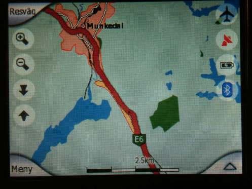 Trots aktiverad TMC i GPS-navigatorn leder den in på avstängd E6