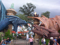 Dueling Dragons - Islands of Adventure