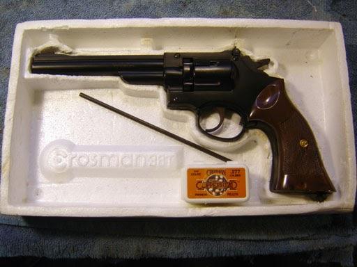 Disassembling A Crosman 38t