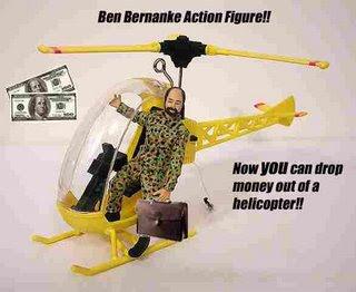 Action Hero Ben Bernanke