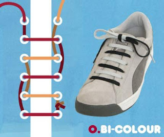 o-shoe lace pattern with picture