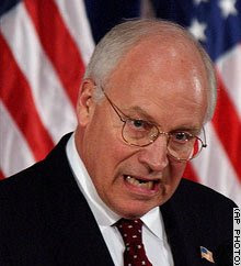 Dick Cheney, an angry, evil liar who reminds me of... angry, evil liar John McCain