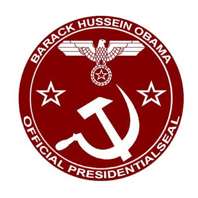 Obama comunist Symbol