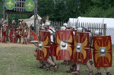 roman legion at attack 9 Most Amazing Overlooked Mysteries in History