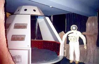 Jacuzzi en una nave espacial