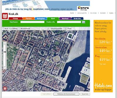 Krak Dk Zeigt Danemark In Luftbildern Und Karte Maporado