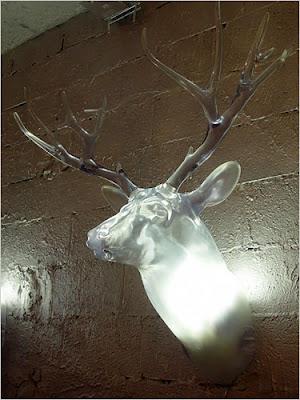 Lucite Deer Head from Patrick Baglino