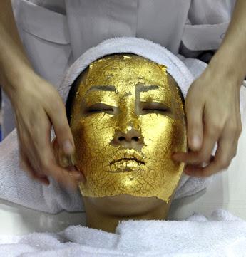 Gold Facial Treatment