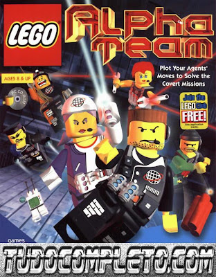 LEGO Alpha Team (PC) Download Completo