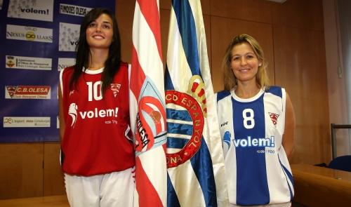 Helena Boada i Sandra Gallego es reparteixen feina de capitania